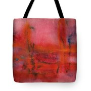 Red Hot Watercolor Tote Bag