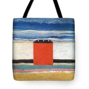 Red House, 1932 Oil On Canvas Tote Bag