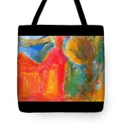 Red House 3 Tote Bag