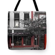 Red Is The Color Of The Day Tote Bag