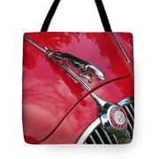 Red Jaguar 3.8 Tote Bag