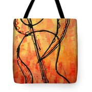 Red Jazz 3 Tote Bag