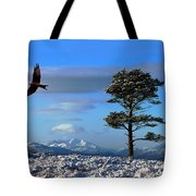 Red Kite Tote Bag