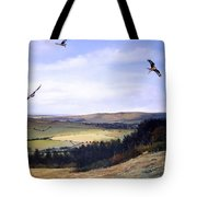 Red Kites At Coombe Hill Tote Bag