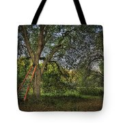 Red Ladder And Oak Tote Bag