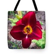 Red Lady Lily 2 Tote Bag