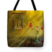 Red Leaves Tote Bag by Veikko Suikkanen