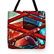 Red Lift Tote Bag