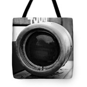 Red Light Bw Tote Bag