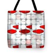 Red Light Glasses Tote Bag