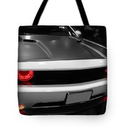 Red Lights Tote Bag by Tom Gari Gallery-Three-Photography