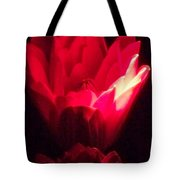 Red Lily At Night Tote Bag
