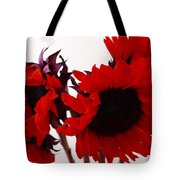 Red Lullaby Tote Bag
