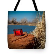 Red Lunch Bag Tote Bag