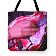 Red Mandolin Tote Bag