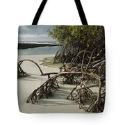 Red Mangrove Root Galapagos Islands Tote Bag