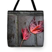 Red Maple Bricks Tote Bag