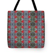 Red Maple Leaf Pattern Tote Bag