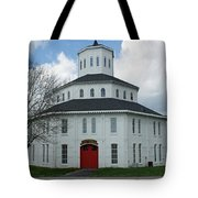 Red Mile Barn Tote Bag by Roger Potts