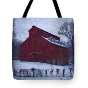 Red Mill Antique Barn Tote Bag