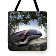 Red Monorail Disneyland 01 Tote Bag