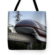 Red Monorail Disneyland 02 Tote Bag
