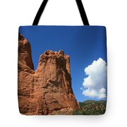 Red Mountain Garden Of The Gods  Colorado Tote Bag by Robert D  Brozek