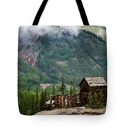 Red Mountain Remnants Tote Bag by Lana Trussell