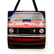 Red Mustang Tote Bag