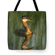 Red-necked Grebe Tote Bag