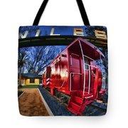 Red Niles Tote Bag