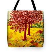 Red Oaks  Pop Art Tote Bag