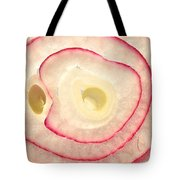 Red Onion Slice Miniature Art Tote Bag
