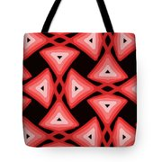 Red Ornament IIi Tote Bag