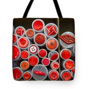 Red Palate Tote Bag