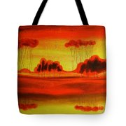 Red Planet Tote Bag