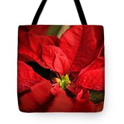 Red Poinsettia 2 Tote Bag