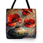 Red Poppies 02 Tote Bag