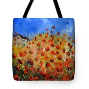 Red Poppies 562111 Tote Bag