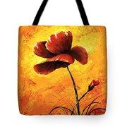 Red Poppy 012 Tote Bag
