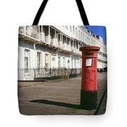 Red Postbox Tote Bag