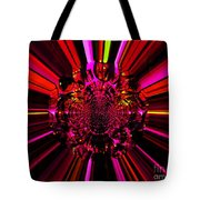Red Ray Tote Bag