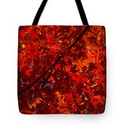 Red Red And Red Tote Bag