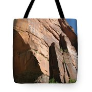 Red Red Rock Tote Bag
