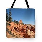 Red Red Rocks Tote Bag