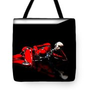 Red Reflection Tote Bag