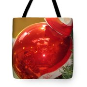 Red Reflections Tote Bag