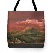 Red Rhine Tote Bag