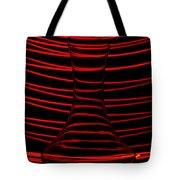 Red Rhythm Tote Bag