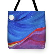 Red Ridge By Jrr Tote Bag